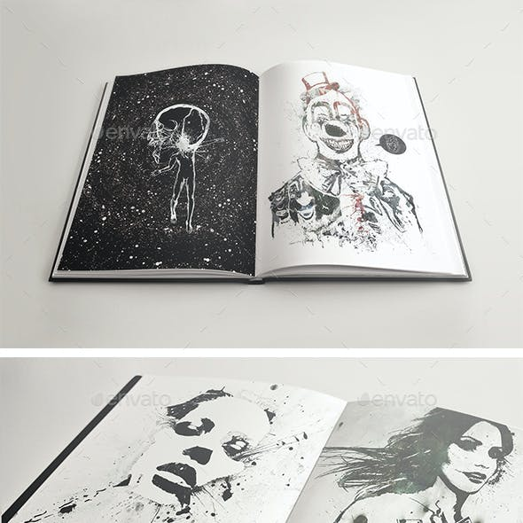 5 SketchBook Notebook Mockups