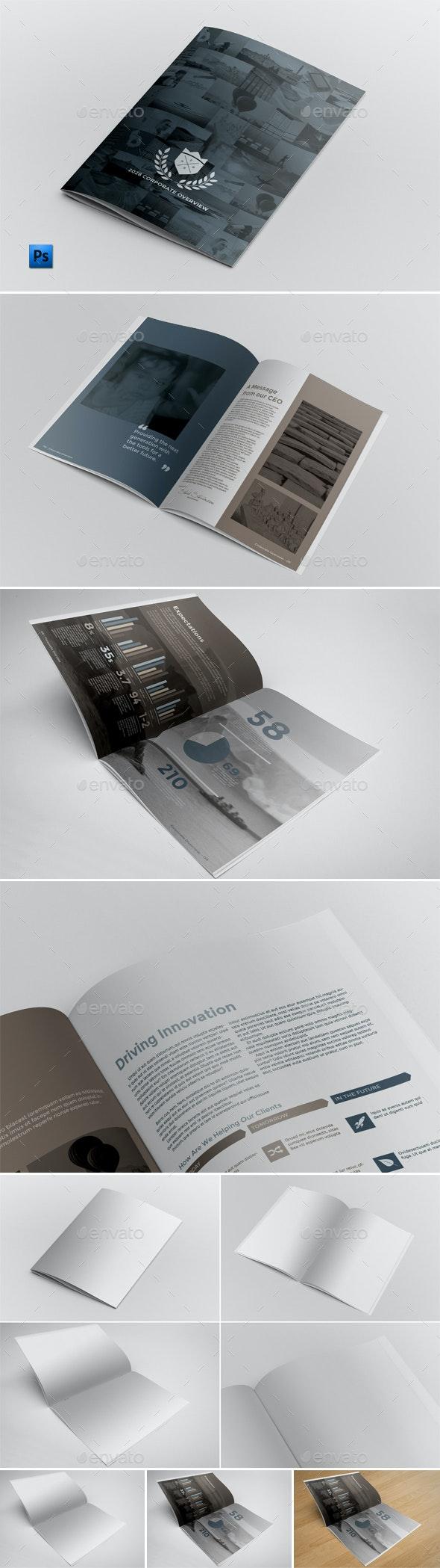 Brochure Mockups - Print Product Mock-Ups