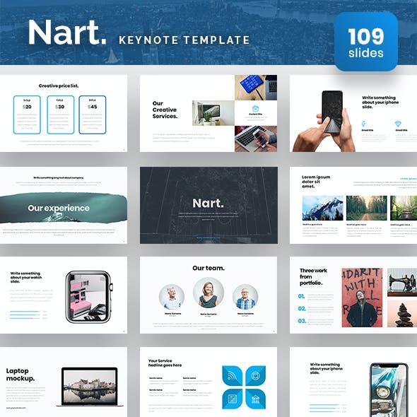 Nart Keynote Presentation Template