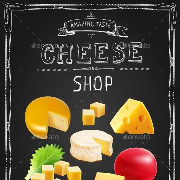 Cheese Various Types Collection