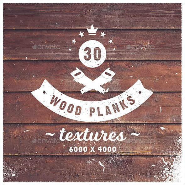 30 Wood Planks Textures