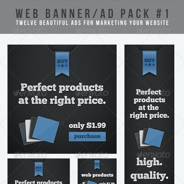 Web Banner/Ad Pack #1