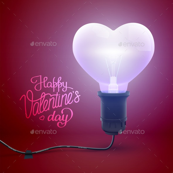 Light Valentines Poster - Valentines Seasons/Holidays