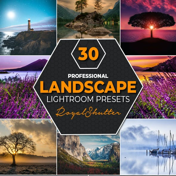 30 Landscape Lightroom Presets