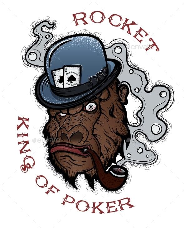 Poker King Rocket - Animals Characters