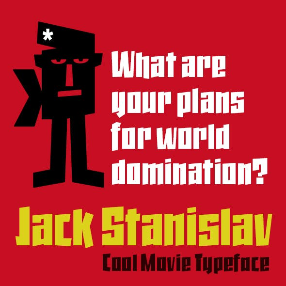 Jack Stanislav font