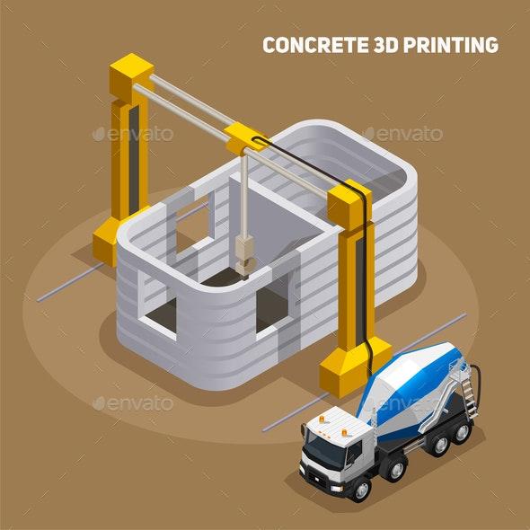 Concrete 3D Printing Composition - Industries Business