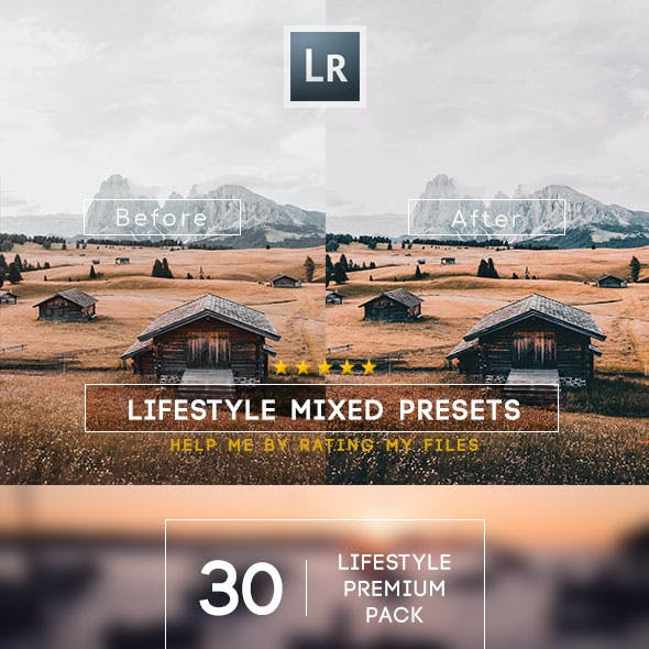 30 LifeStyle Mixed Lightroom Presets