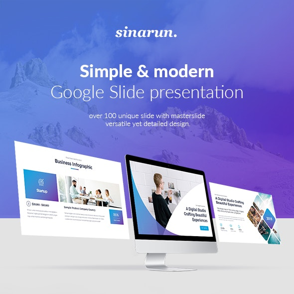 Sinarun Google Slide Template