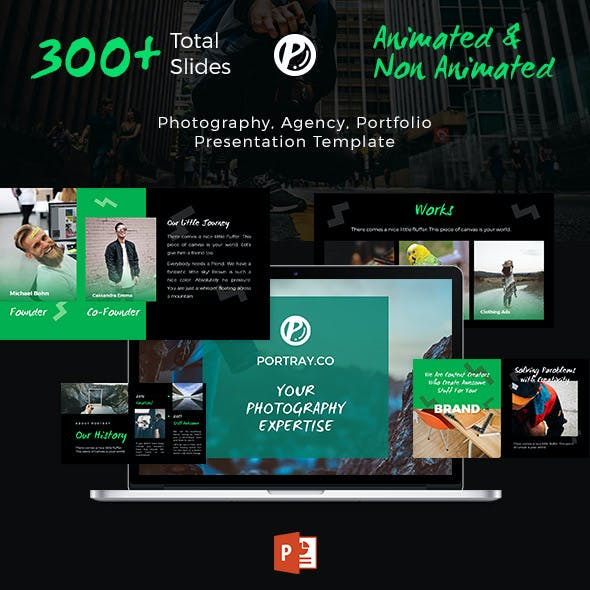 Creative Photography & Portfolio Presentation - Portray