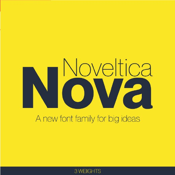 Noveltica Nova Sans Font