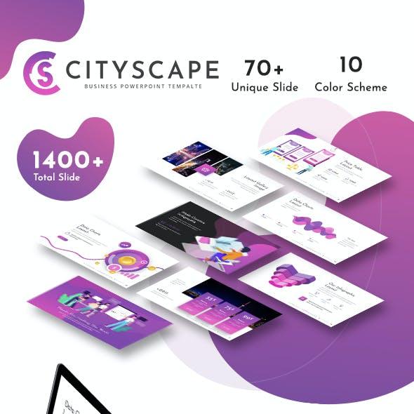 Cityscape Presentation Template
