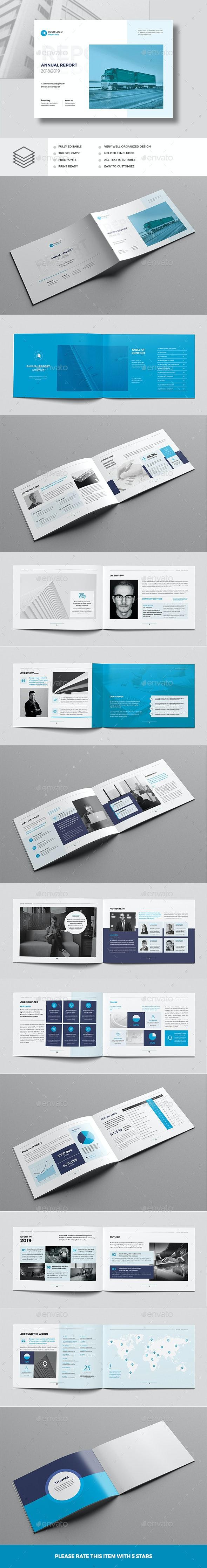 Annual Report Landscape - Corporate Brochures