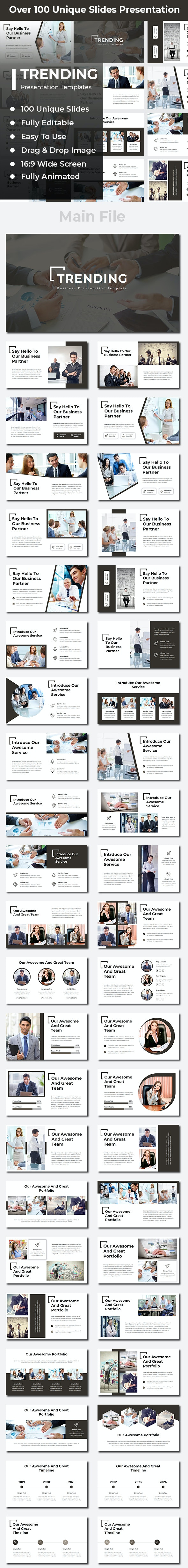 Trending Business PowerPoint - Business PowerPoint Templates