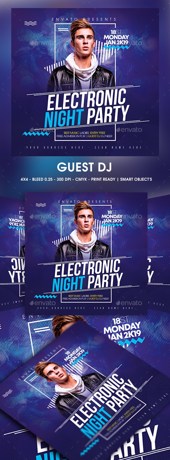 Guest DJ - Clubs & Parties Events
