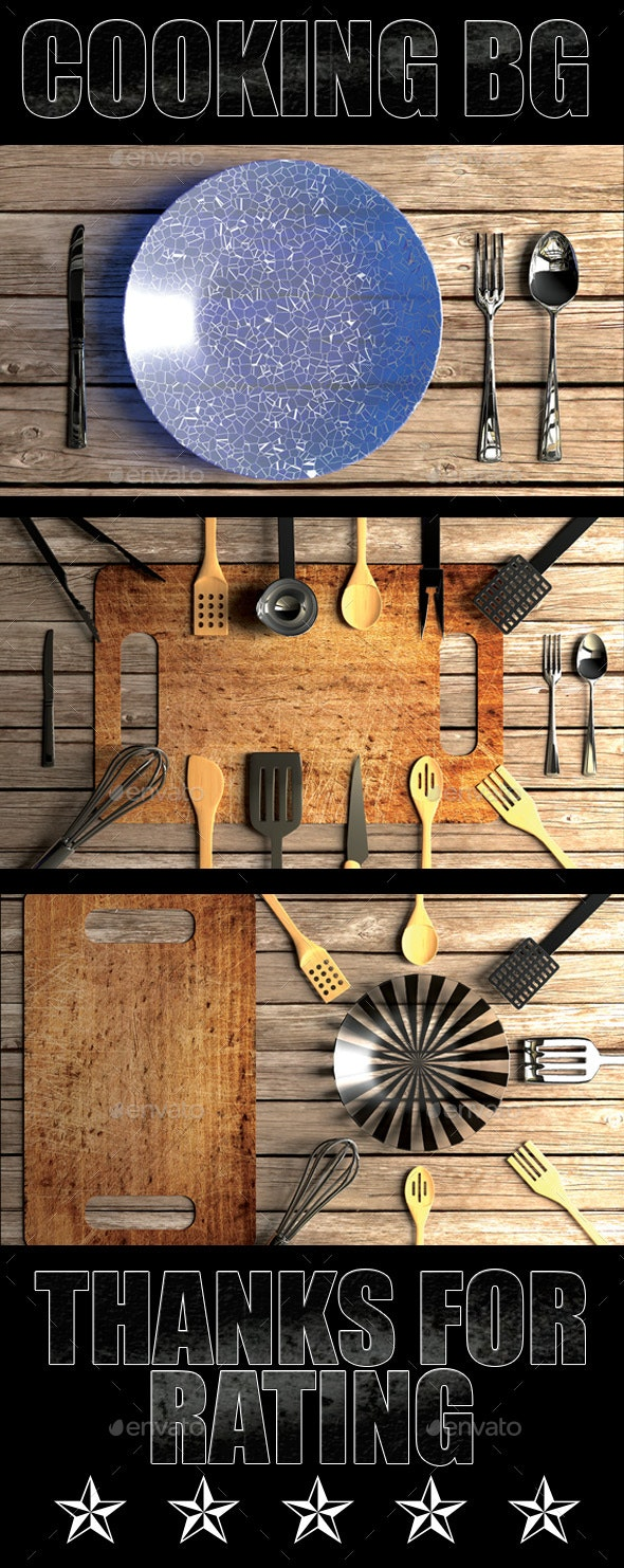 Cooking BG - 3D Backgrounds