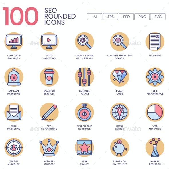 SEO Icons - Butterscotch Series