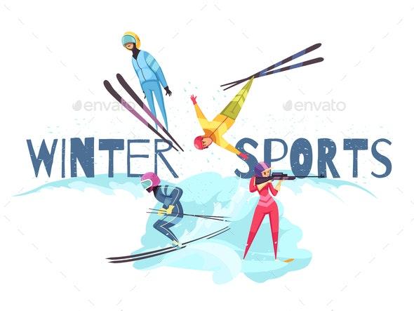 Winter Sports Concept - Sports/Activity Conceptual