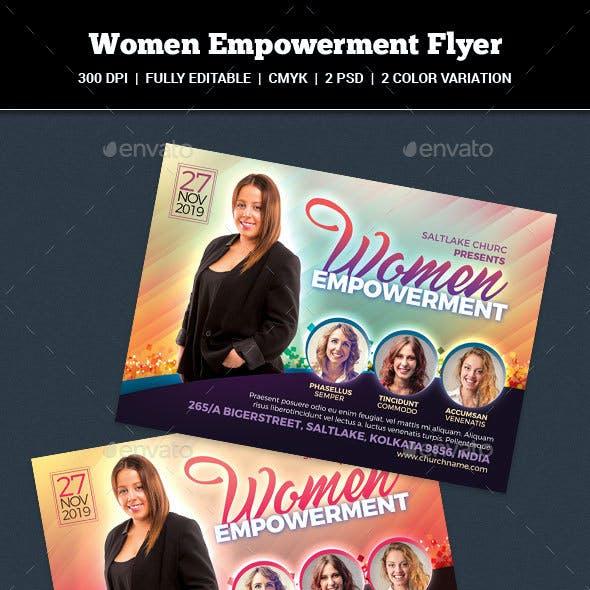 Women Empowerment Flyer