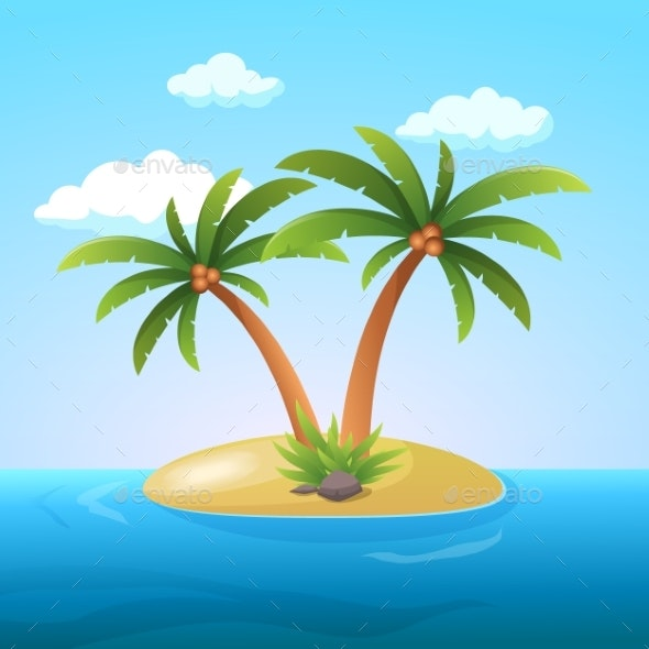 Summer Vacation Holiday Tropical Ocean Island - Landscapes Nature