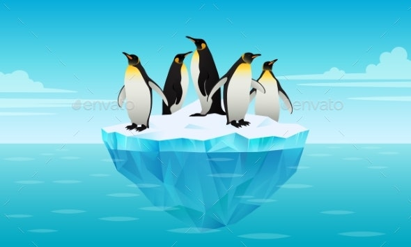Penguins on Ice - Animals Characters