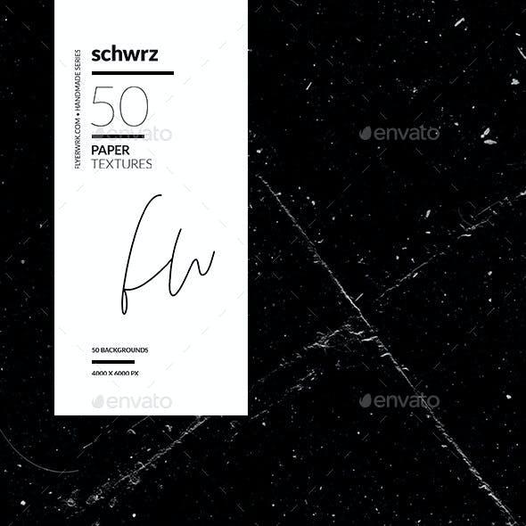 Schwrz - 50 Black Paper Textures