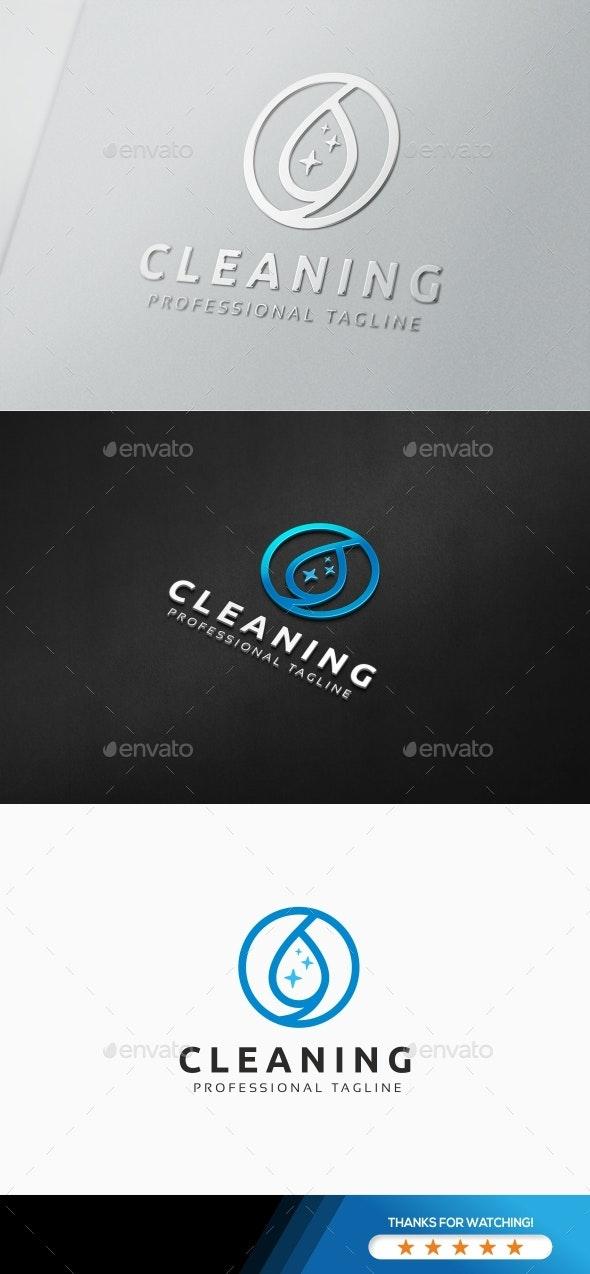 Clean Water logo - Nature Logo Templates