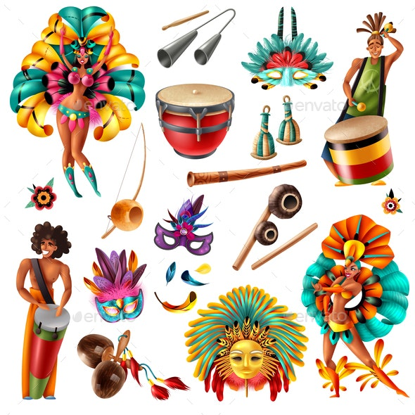Carnival Brasil Set - Miscellaneous Seasons/Holidays