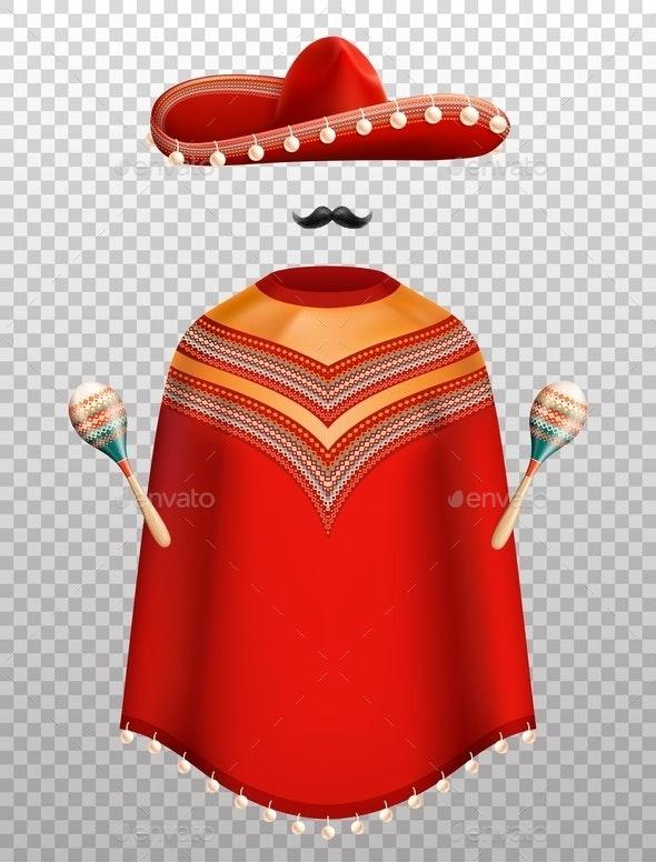 Mexican Clothes Set - Miscellaneous Vectors