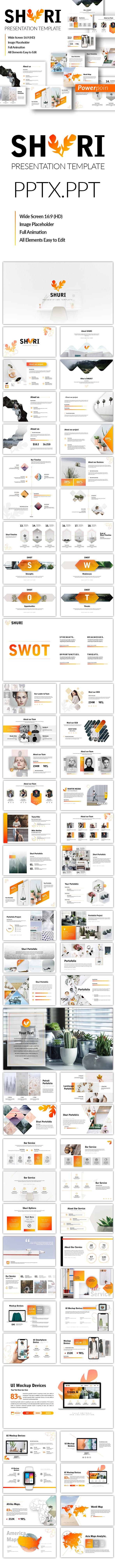 Shuri Business Template - Business PowerPoint Templates