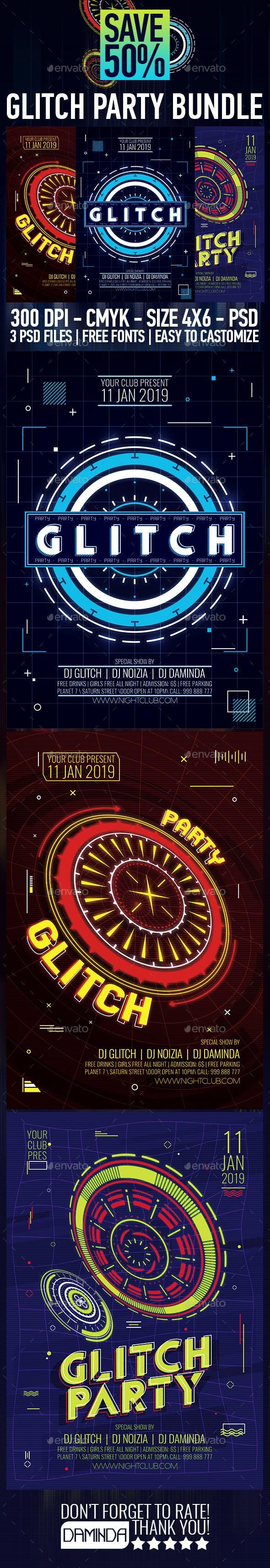 Glitch Party Bundle 2019