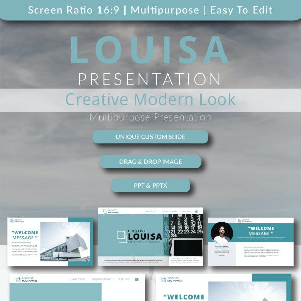 Louisa Presentation Templates