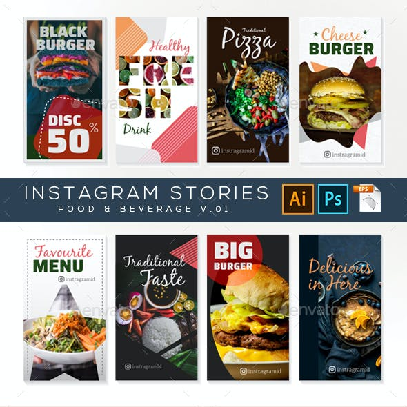 Instagram Stories – Food and Beverage v.04