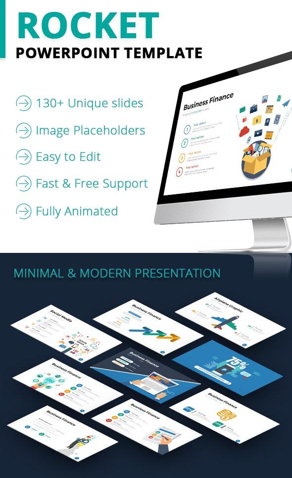 Rocket Powerpoint Template - PowerPoint Templates Presentation Templates