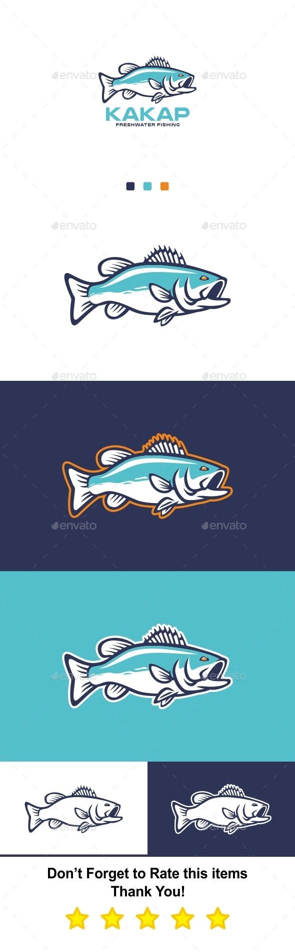 Sport Fishing Logo - Animals Logo Templates