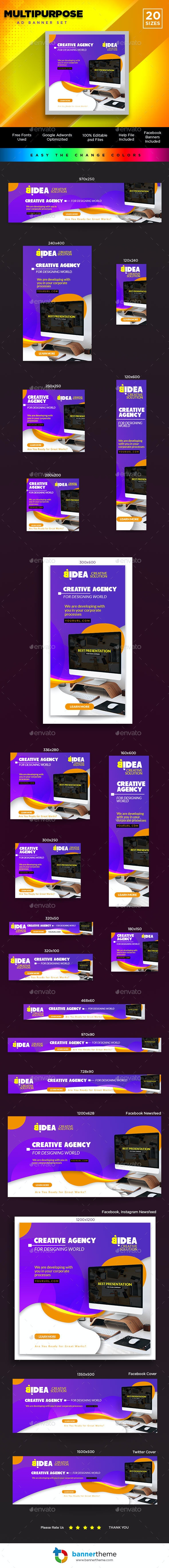 Multipurpose Banner - Banners & Ads Web Elements