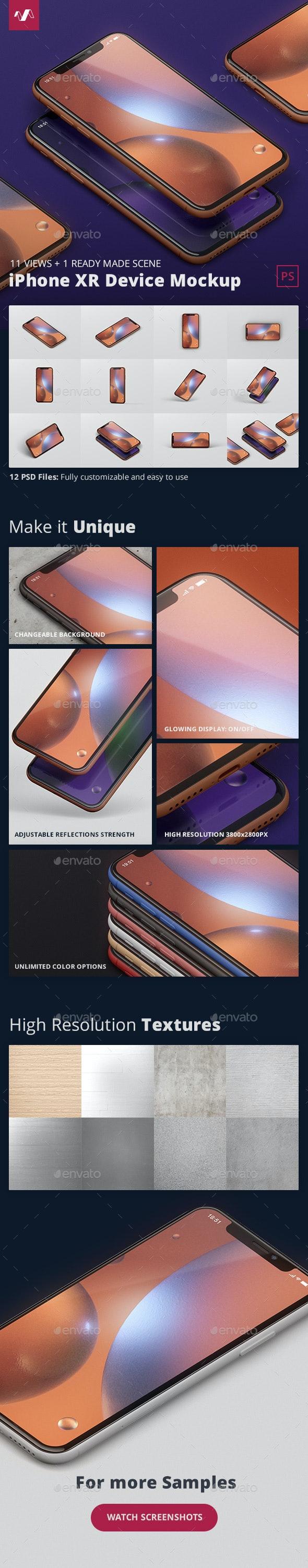 Phone XR Mockup - Mobile Displays
