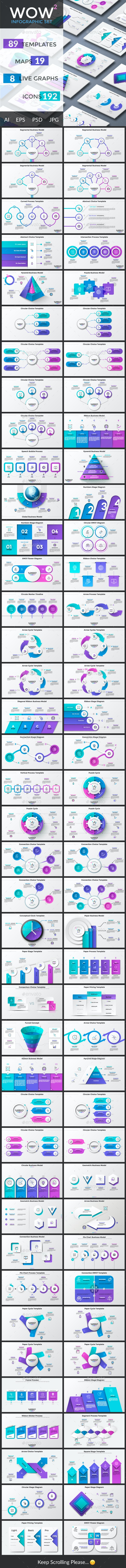 Wow-2 Infographic Collection - Infographics