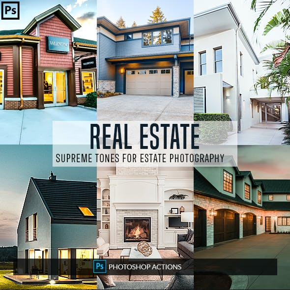 21 Real Estate Photoshop Actions