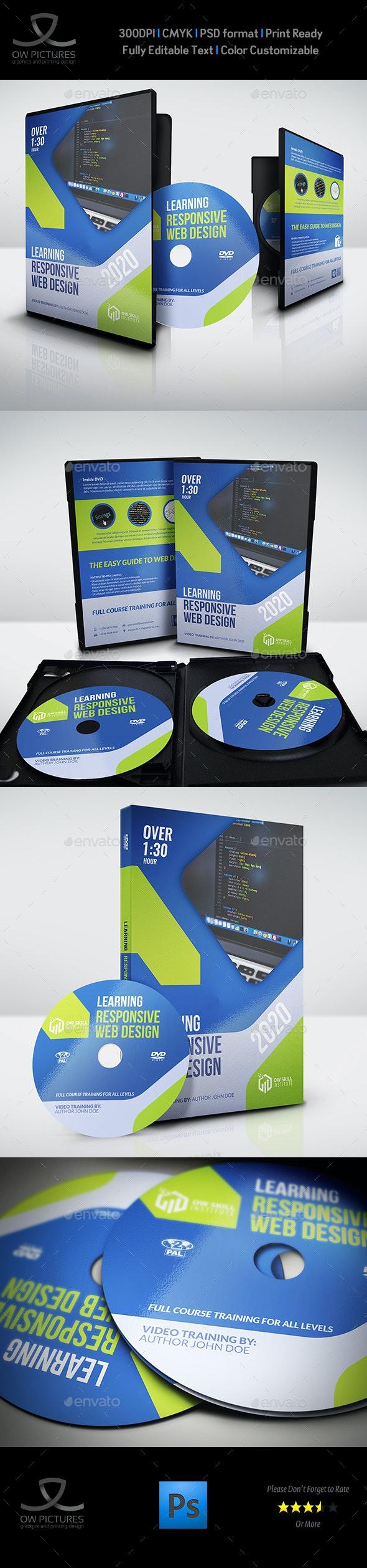 Training Course DVD Template Vol.3 - CD & DVD Artwork Print Templates