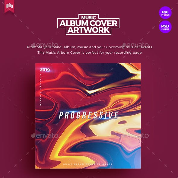 Progressive - Music Album Cover Artwork