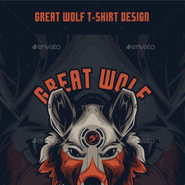 Great Wolf T-Shirt Design