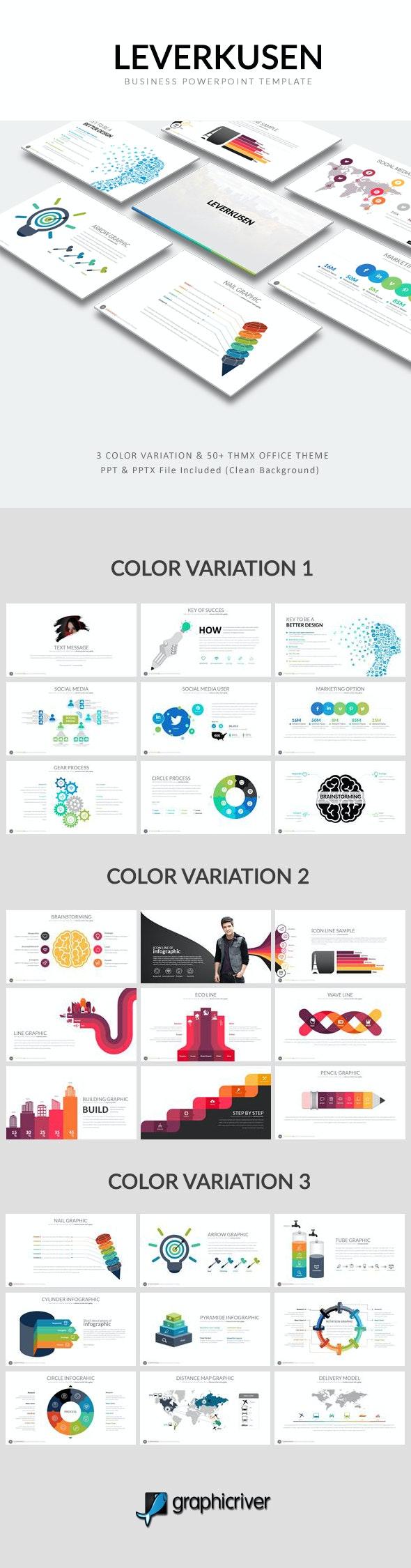 Leverkusen Powerpoint Template - Business PowerPoint Templates