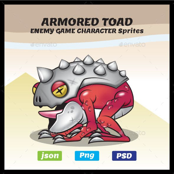 Armored Toad Game Character Sprites