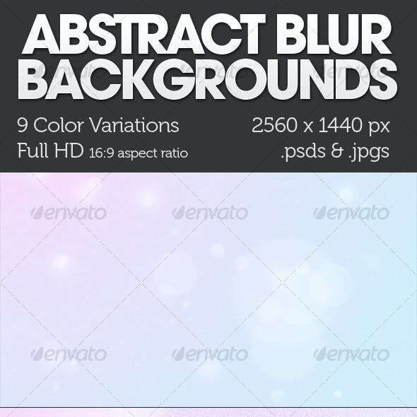 Abstract Textured Blur Backgrounds