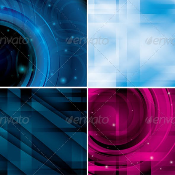 Abstract Shiny Backgrounds