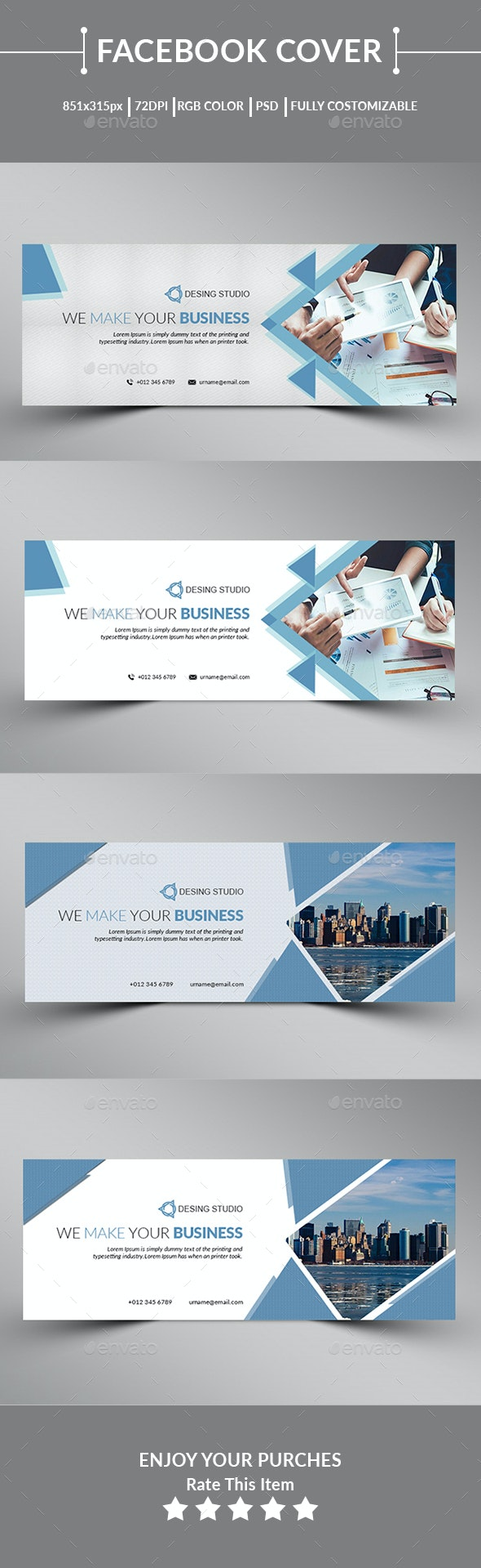 Corporate Facebook Cover - Facebook Timeline Covers Social Media