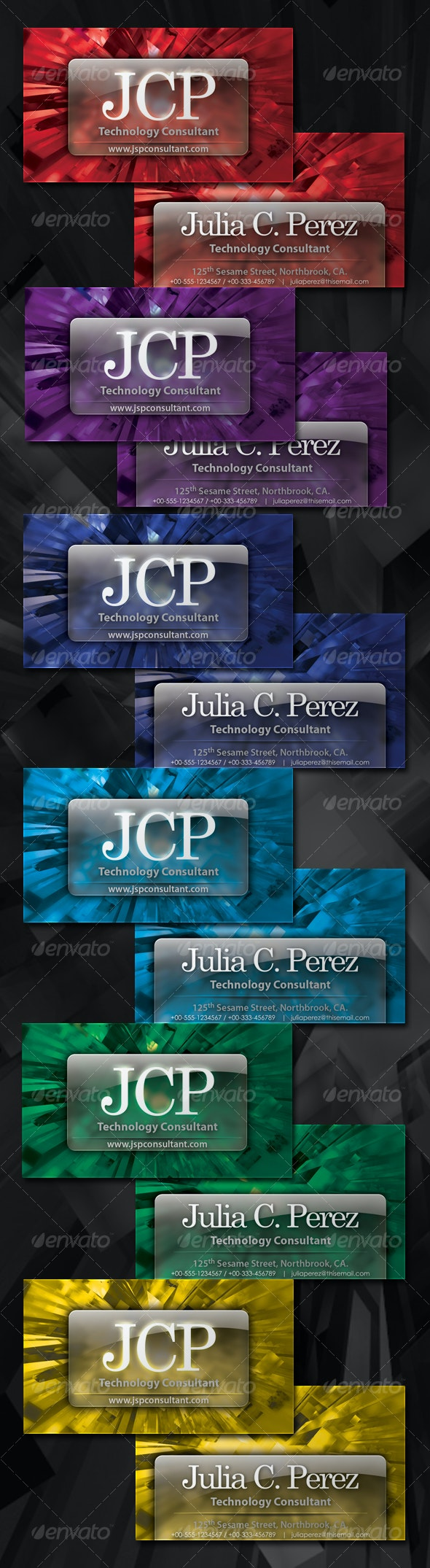 Crystal Business Card - Creative Business Cards