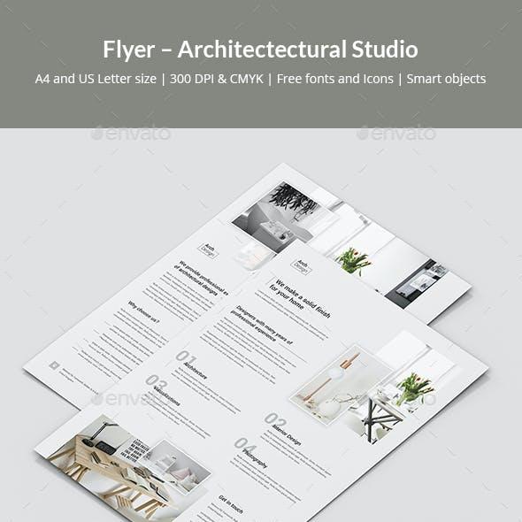 Flyer – Architectural Studio