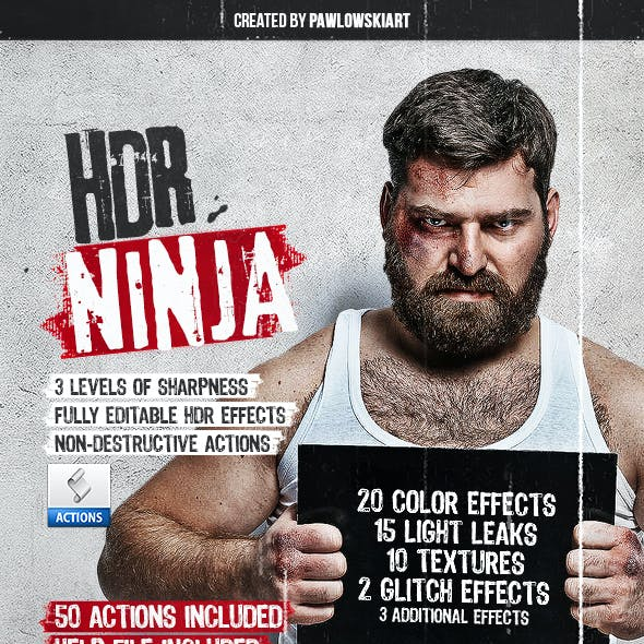 HDR Ninja - 50 Photoshop Actions